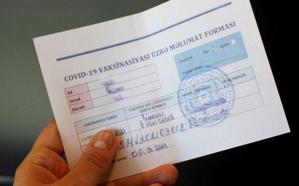 İmmunitet və peyvənd sertifikatları ilə bağlı VACİB XƏBƏR: Müddətsiz olaraq uzatmaq üçün...